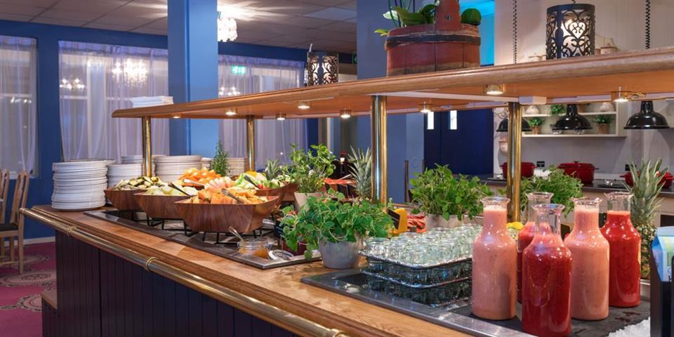 Thon Hotel Skeikampen Frukost