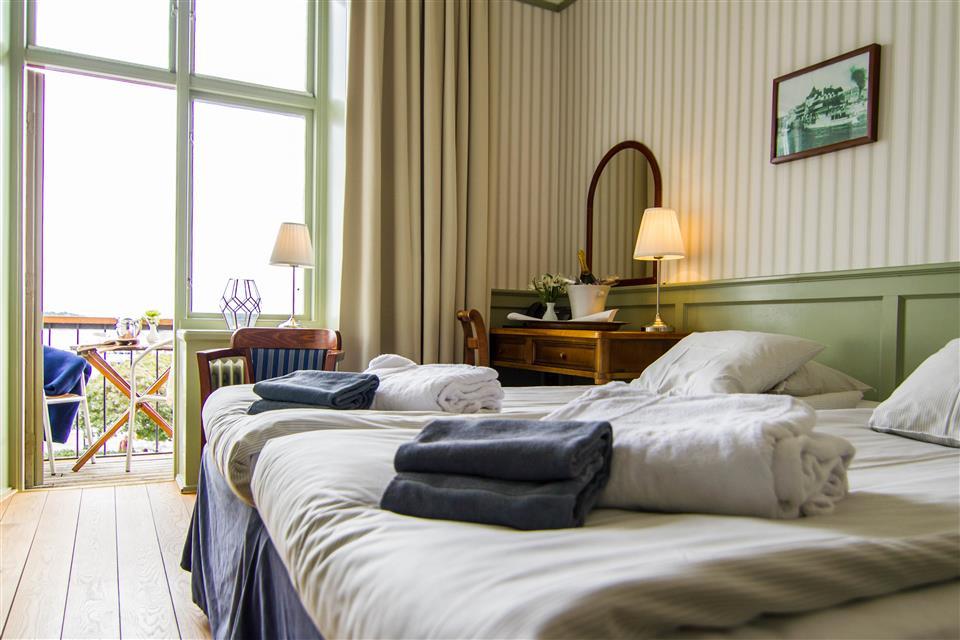 Waxholms Hotell - Vaxholm Dubbelrum med balkong