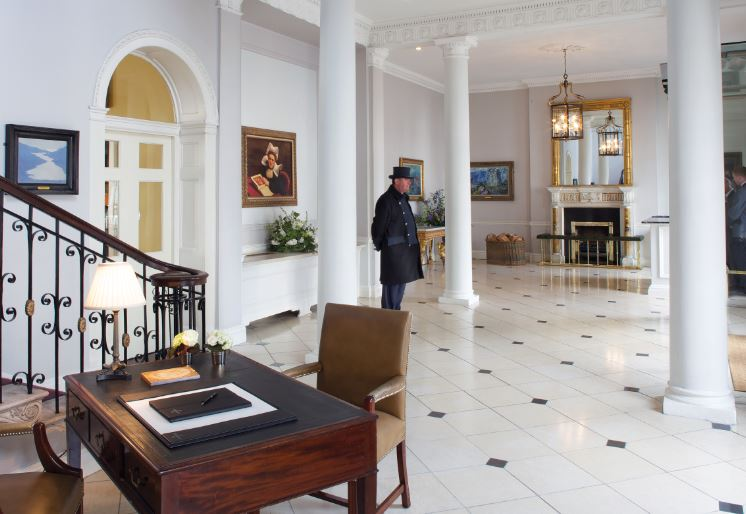 The Merrion Hotel Front Hall