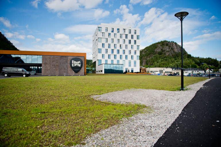 Scandic Rock City Hotel Exterior