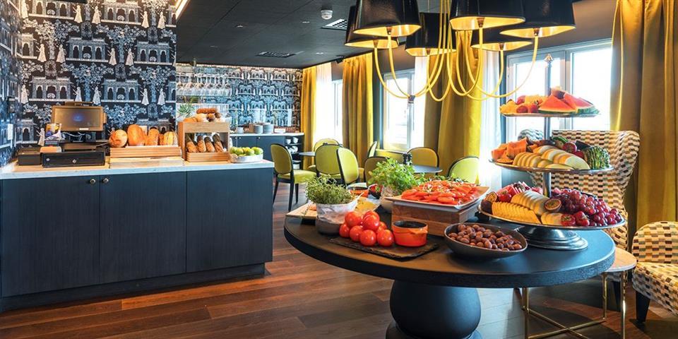 Thon Hotel Orion Frukostbuffé