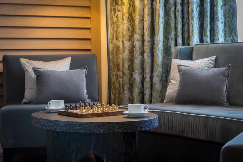 Conrad Hotel Bedroom Area