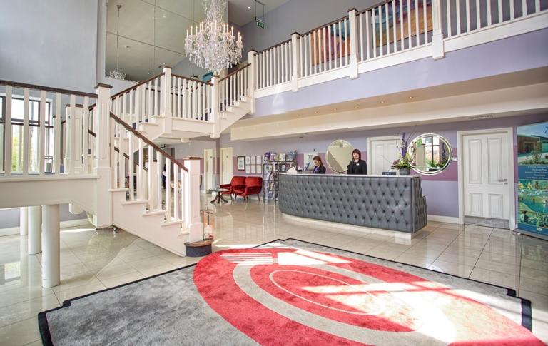 Kenmare Bay Hotel Reception
