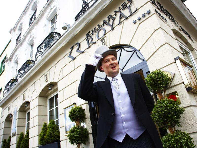 Killarney royal hotel welcome