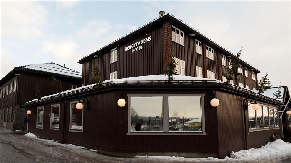Bergstadens Hotel Fasad