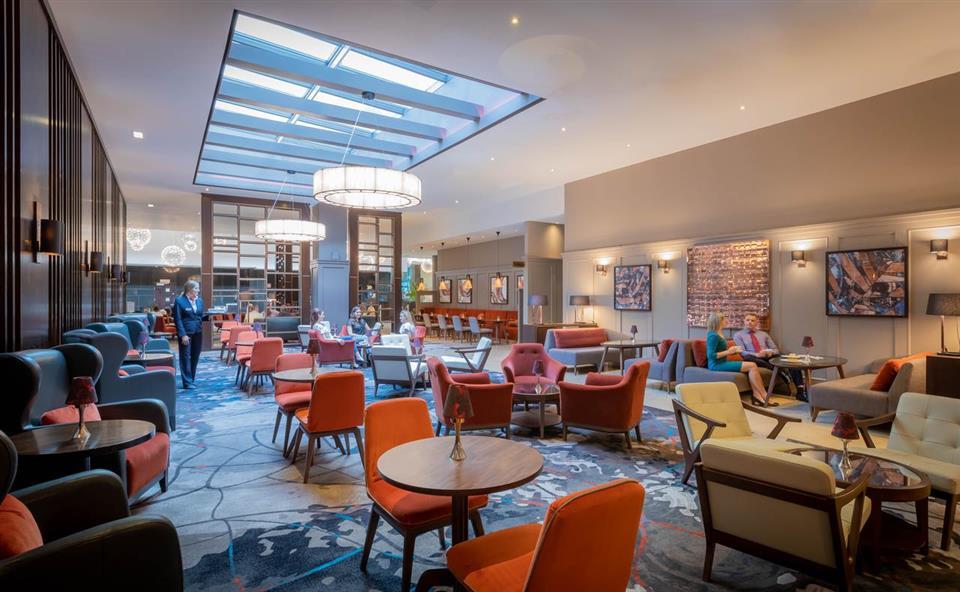 Clayton Hotel Dublin Airport Lobby
