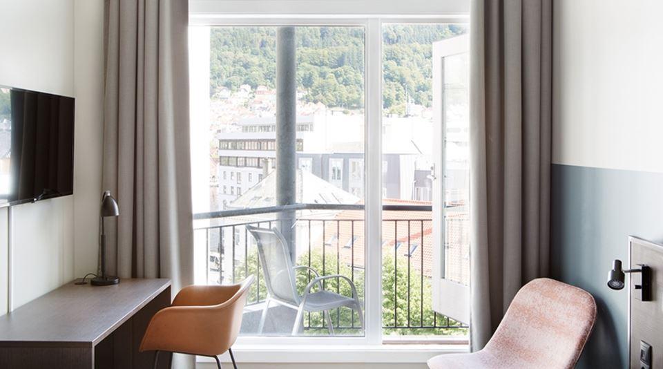Comfort Hotel Bergen Uppgraderat dubbelrum