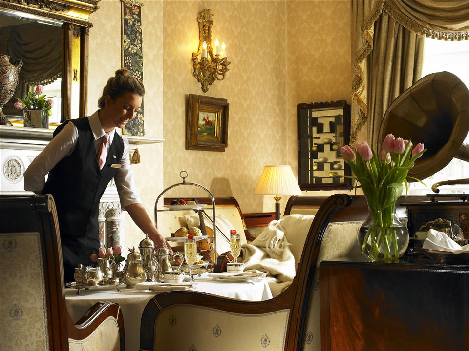 Afternoon Tea at Hayfield Manor