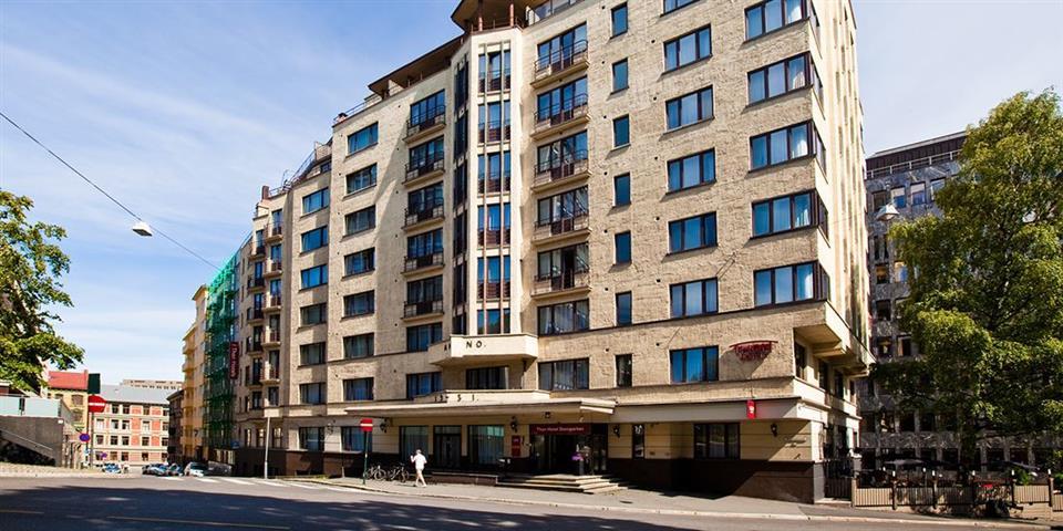 Thon Hotel Slottsparken Fasad