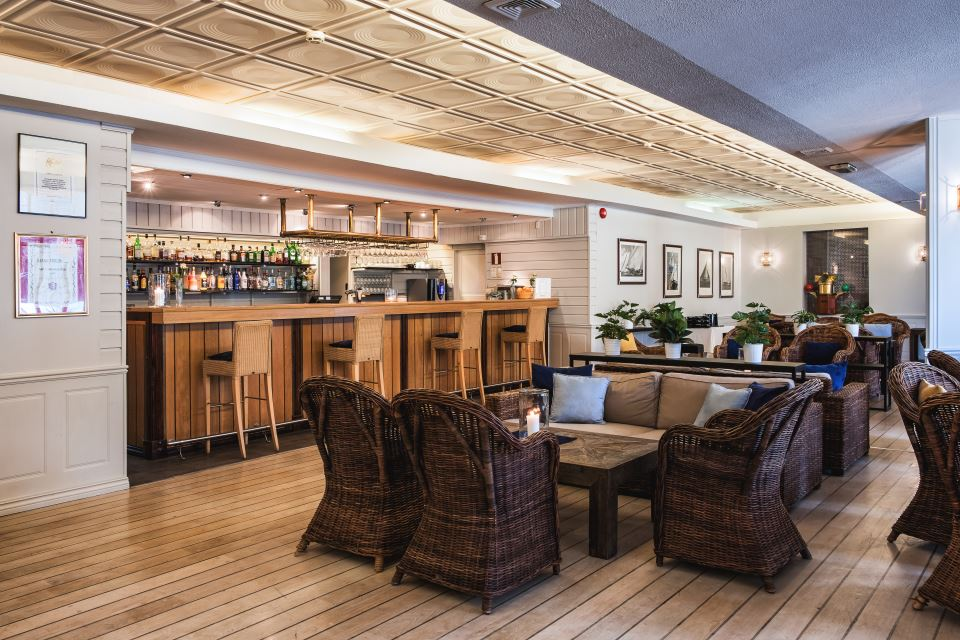 Unike Hankø Hotell & Spa Bar area