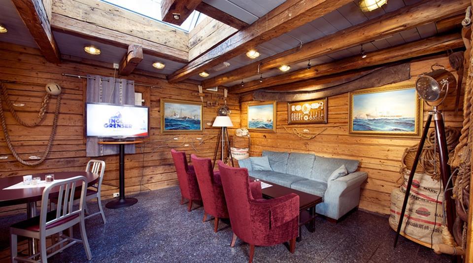 Clarion Collection Hotel Atlantic Matsal