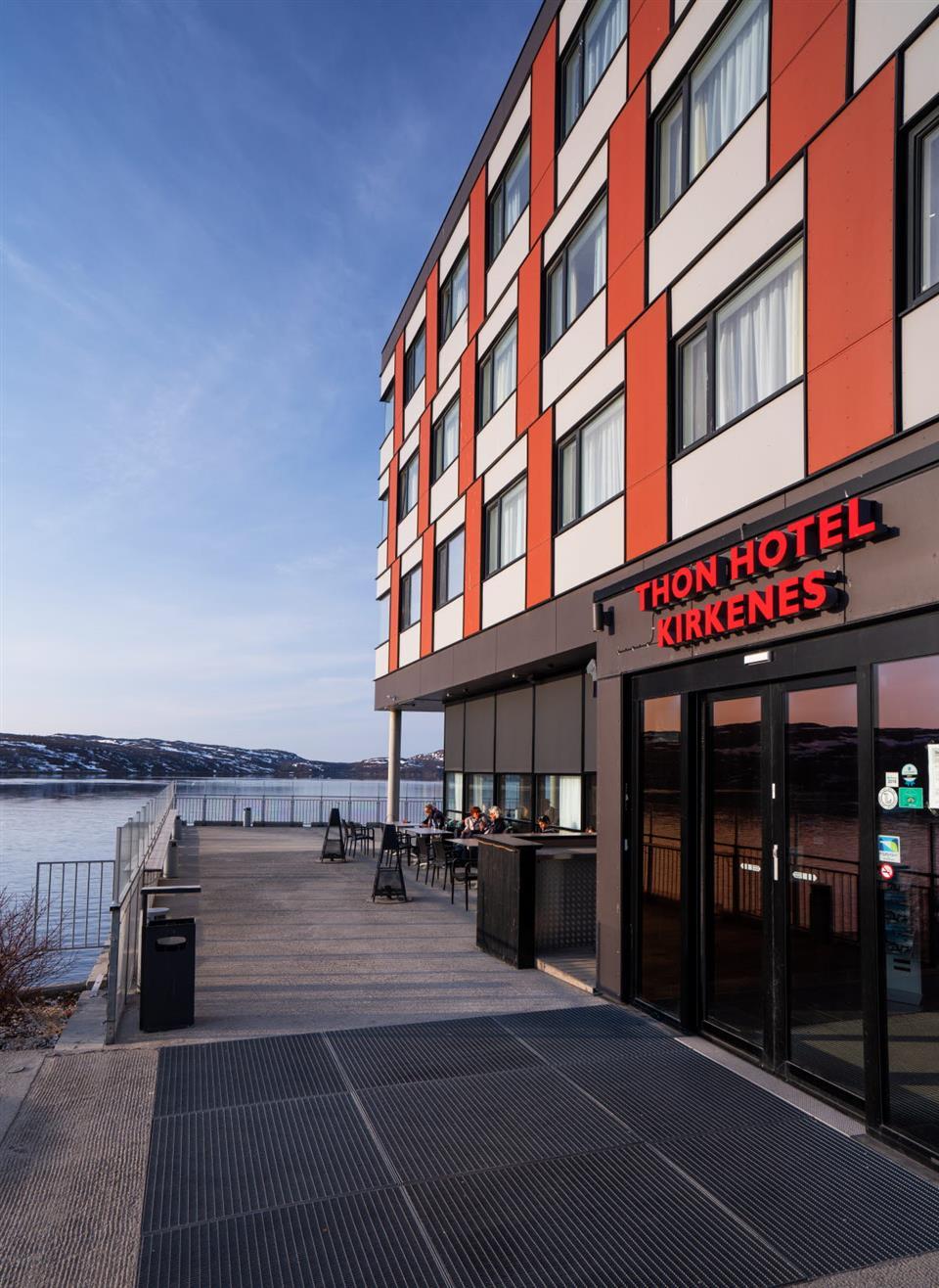 Thon Hotel Kirkenes Fasade