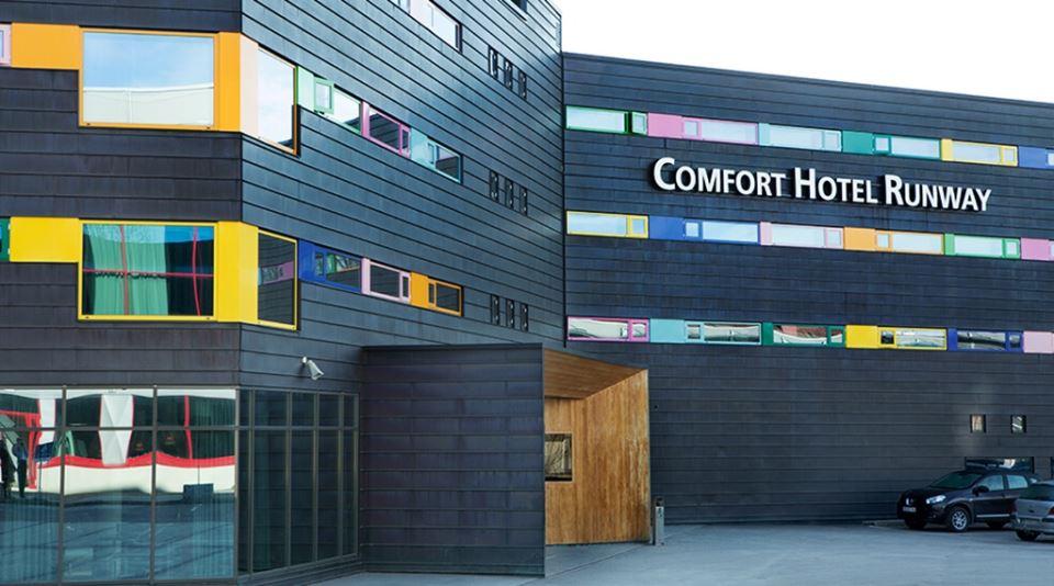 Comfort Hotel Runway Fasad