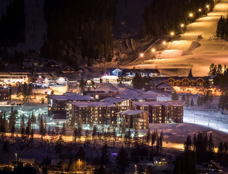 Radisson Blu Resort Trysil Fasad