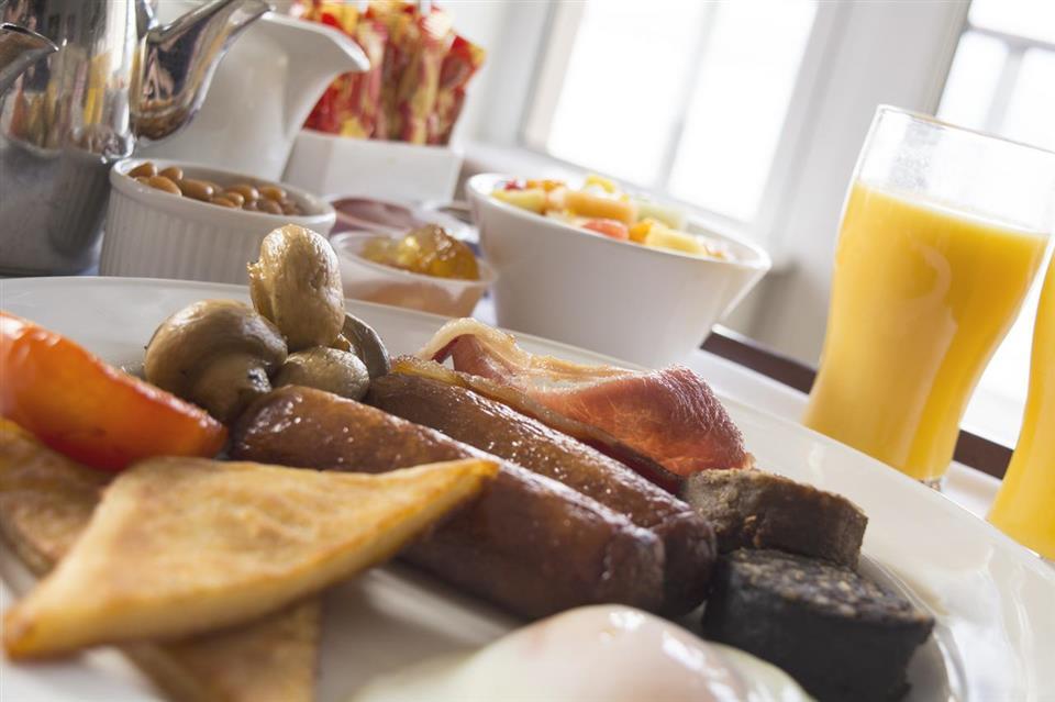 Redcastle Hotel Breakfast