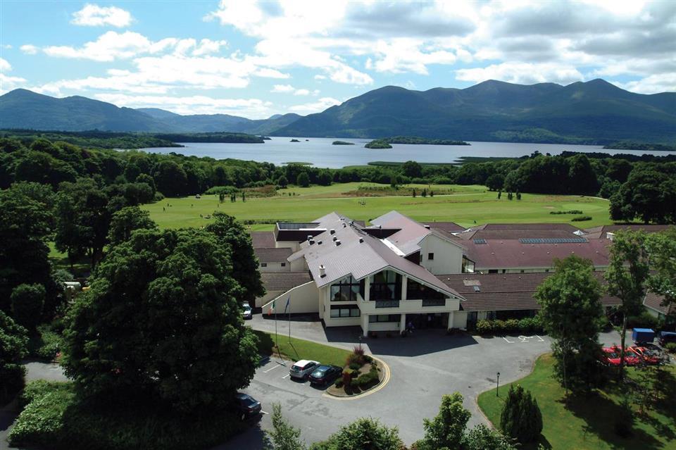 Castlerosse Park Resort ariel view