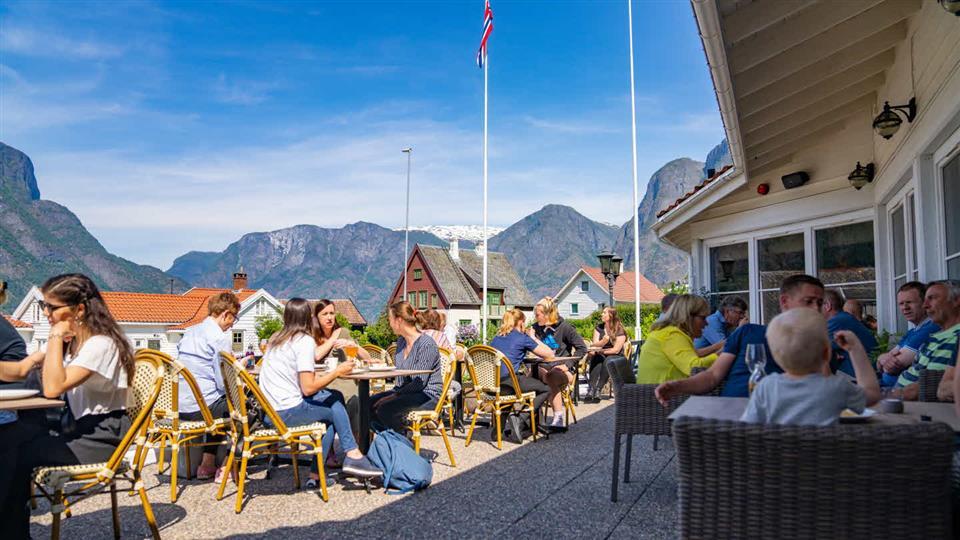 Hotel Aurlandsfjord Terrass