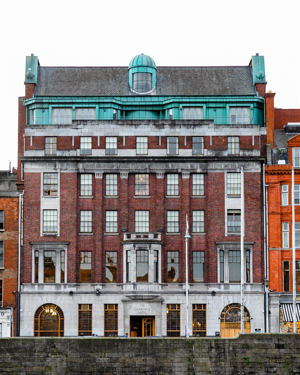 The Clarence Hotel Exterior
