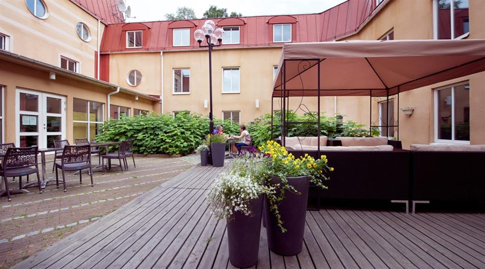 Clarion Collection Hotel Uman  Uteplats