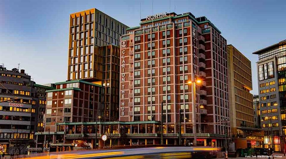Clarion Hotel The Hub Fasad