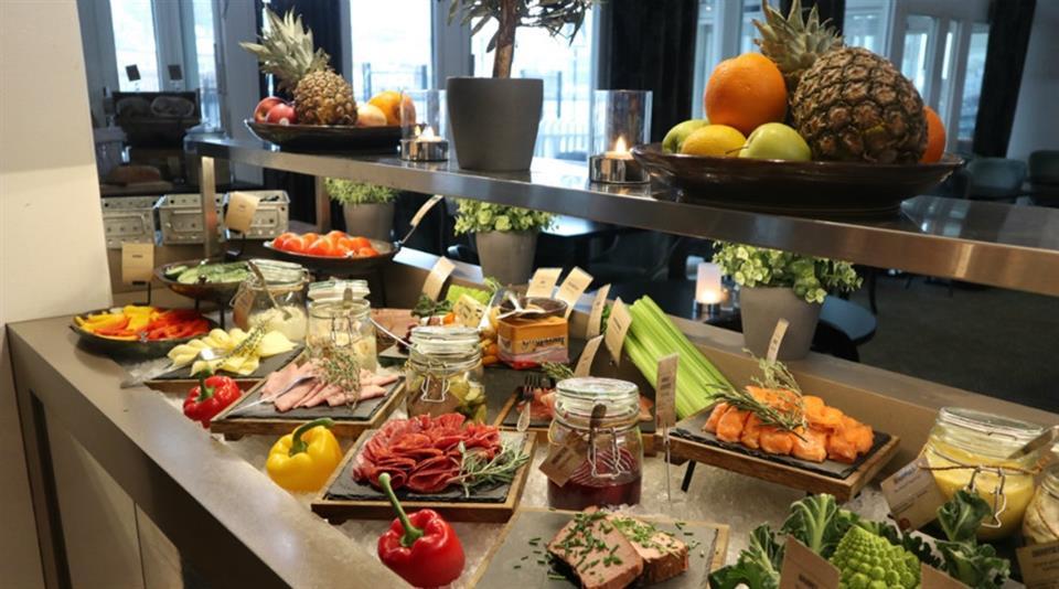 Clarion Collection Hotel Skagen Brygge Frukostbuffé