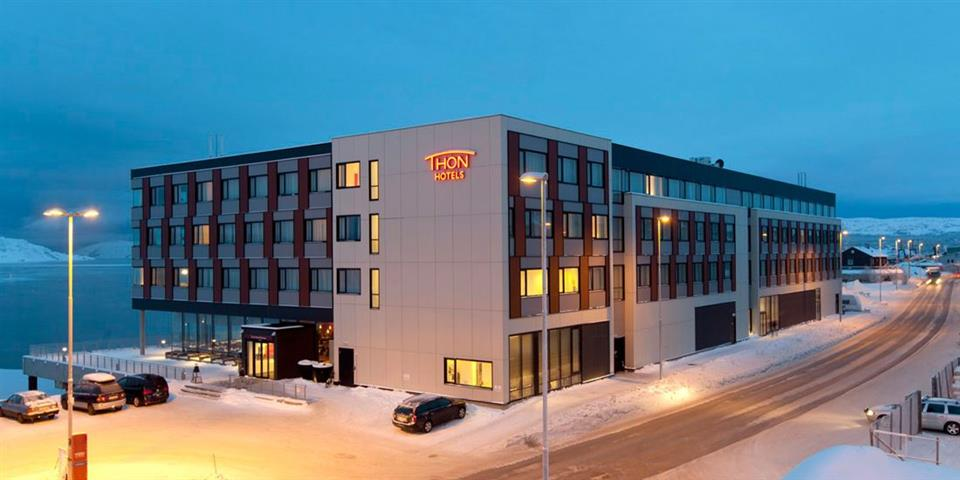 Thon Hotel Kirkenes Fasad