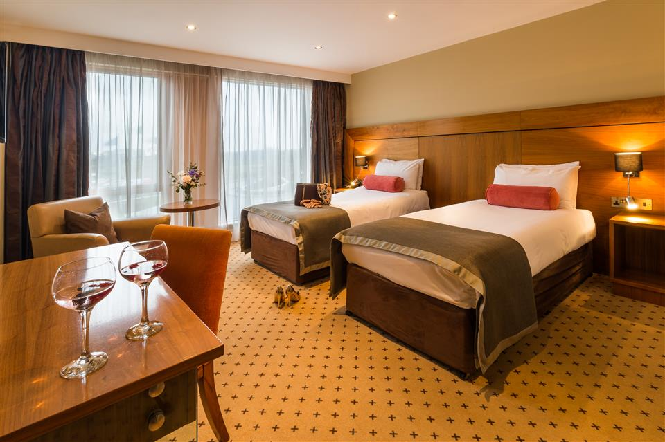 Athlone Springs Hotel & Leisure Center Twin Room
