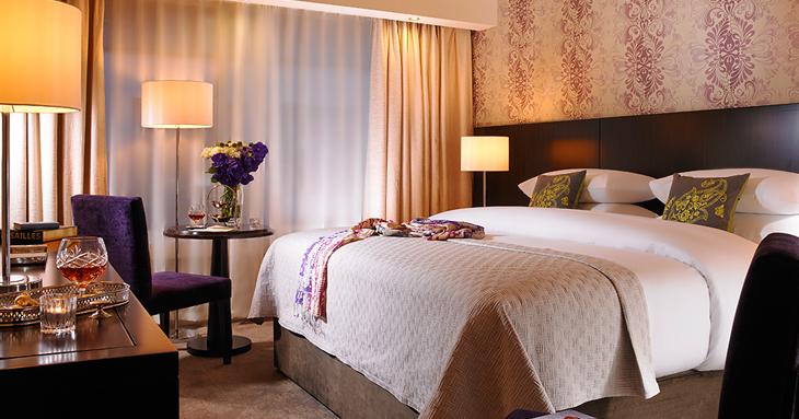 Connacht Hotel Bedroom