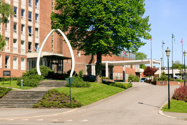 Scandic Park Hotel Sandefjord Entré