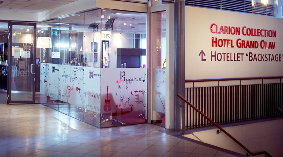 Clarion Collection Hotel Grand Olav Entré