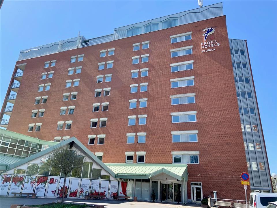 Hotel Nacka Fasad