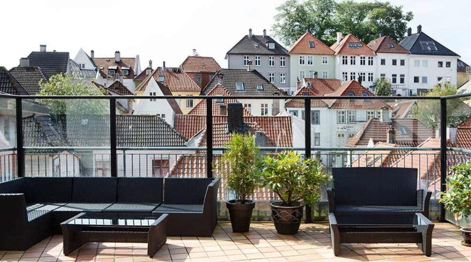 Comfort Hotel Bergen Takterass