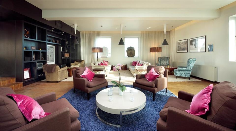 Clarion Collection Hotel Folketeateret Vardagsrum