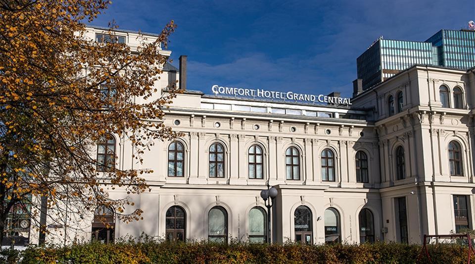 Comfort Hotel Grand Central Fasad