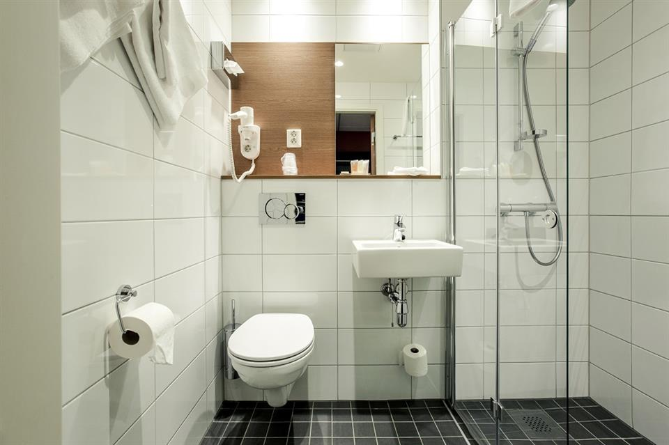 Hotell Bondeheimen Badrum