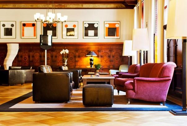 Elite Hotel Knaust Lobby