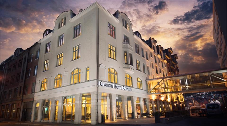 Clarion Hotel Admiral Fasad