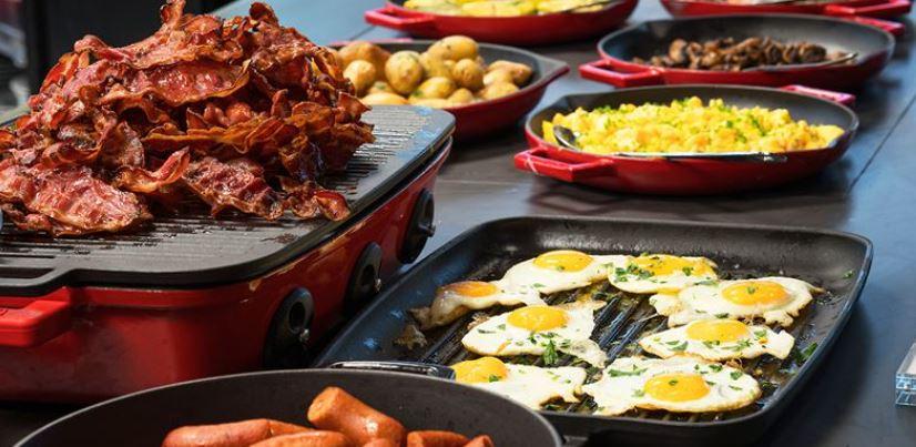 Thon Hotel Astoria Frukost