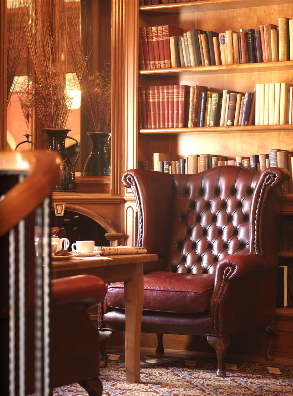 River Island Hotel Library