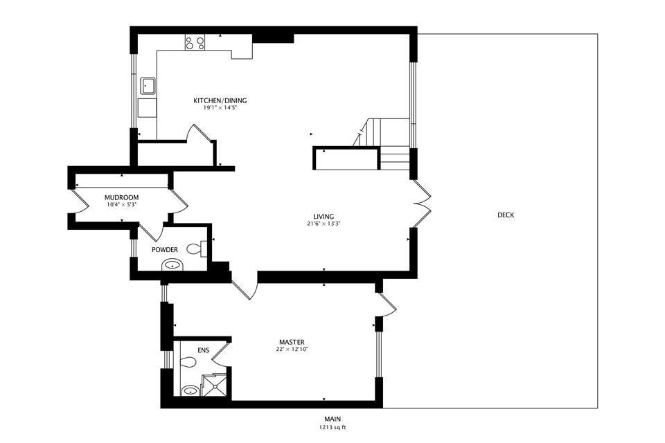 Walled Garden Lodges floor plan ground