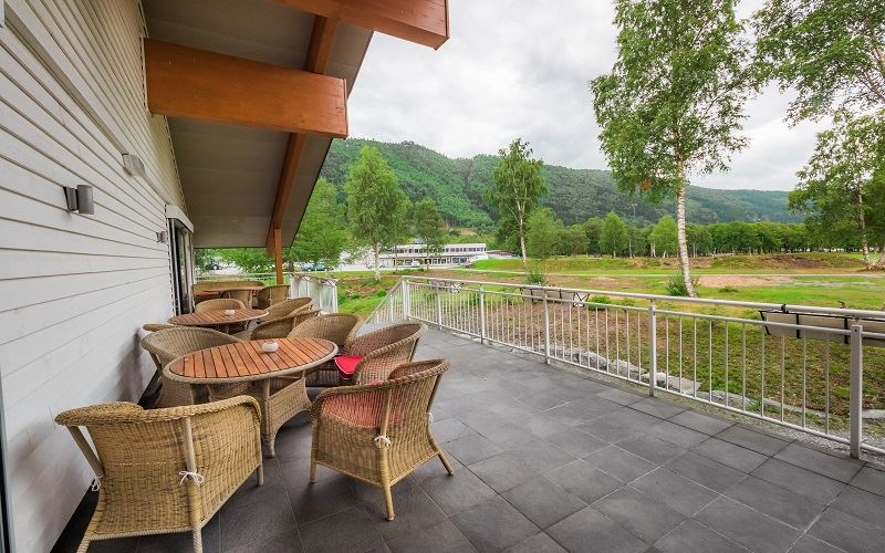 Nordfjord Hotell Uteplats