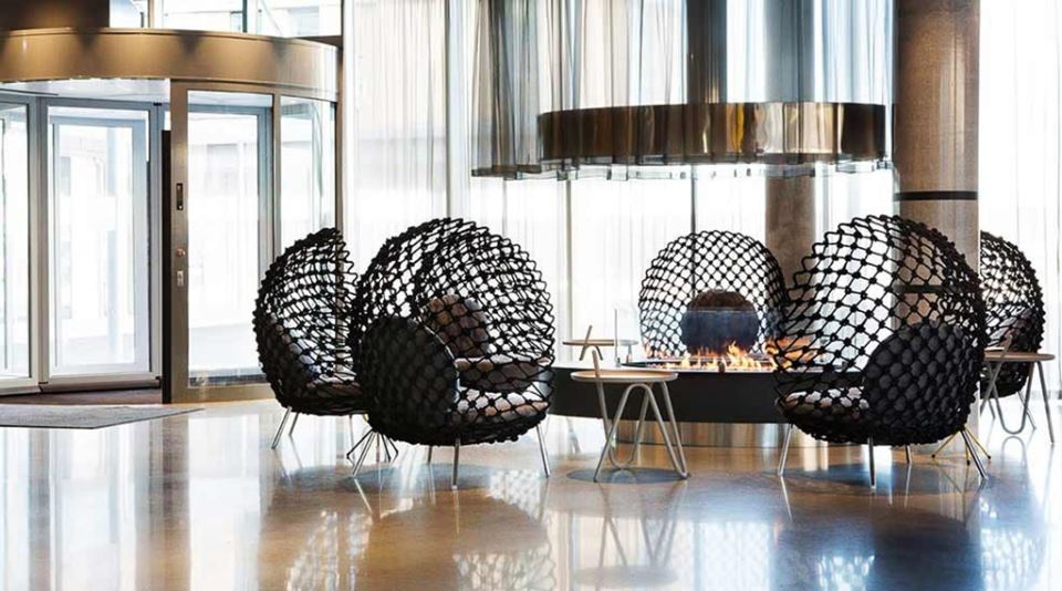 Comfort Hotel Bergen Airport Lobby