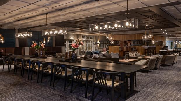 Quality Hotel Sarpsborg Bar sittområde