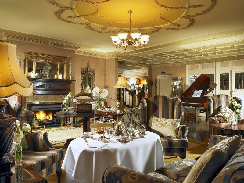 Killarney Royal Hotel Lounge afternoon tea