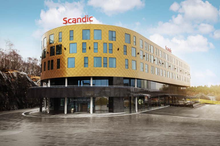 Scandic Flesland Airport Fasad