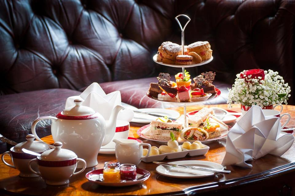 Meadow Court Hotel afternoon tea