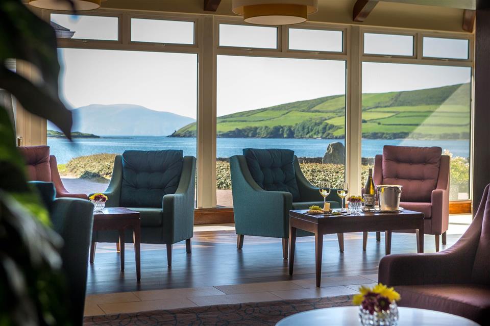 Dingle Skellig HOtel lounge view