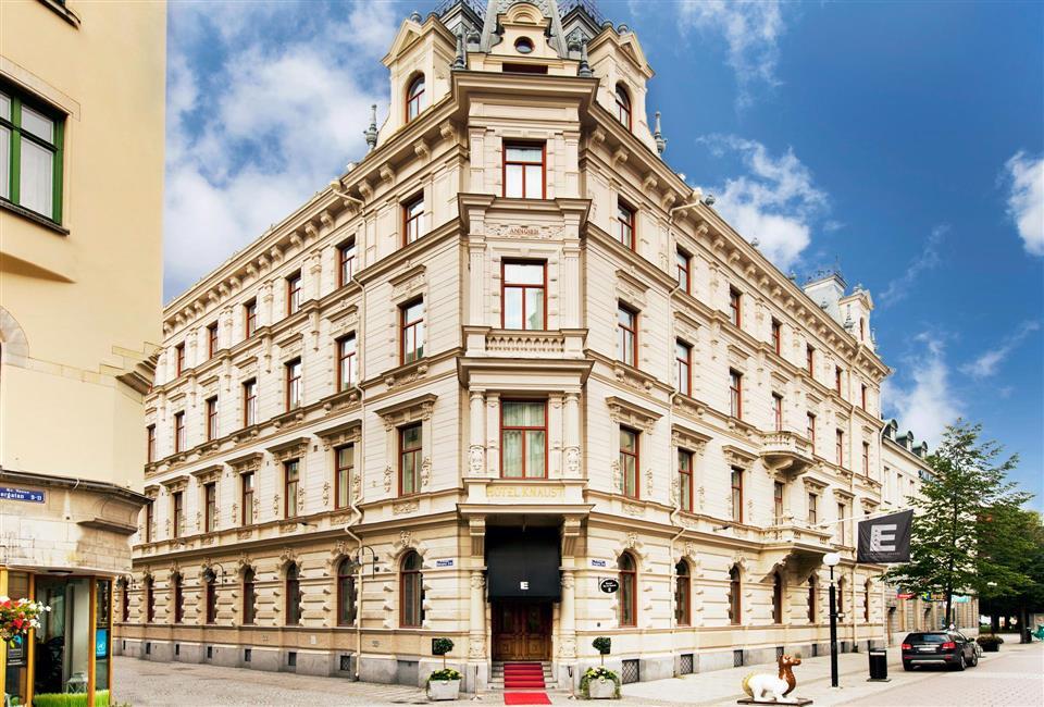 Elite Hotel Knaust Fasad
