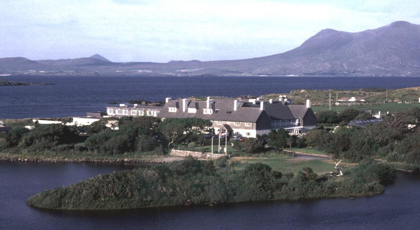 Renvyle Hotel ariel view
