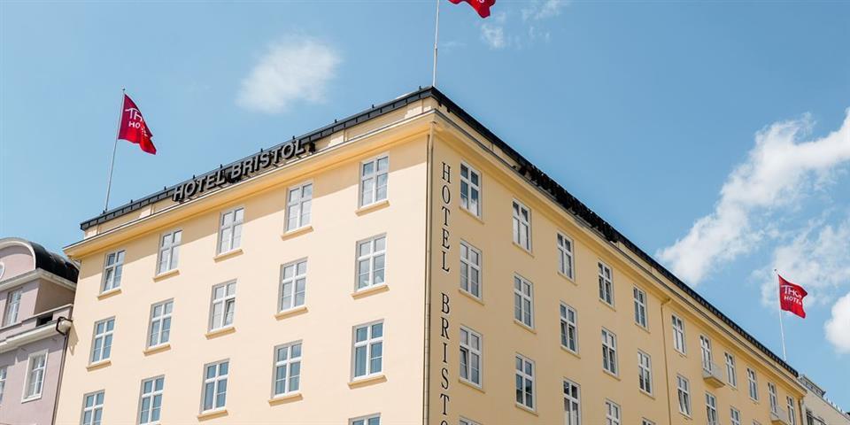 Thon Hotel Bristol Bergen Fasad